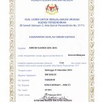 Sijil Lesen Untuk Menjalankan Urusan Agensi Sendiri